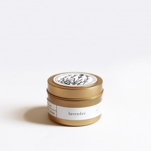 Brooklyn Candle Studio | Lavender | Gold Tin Candle