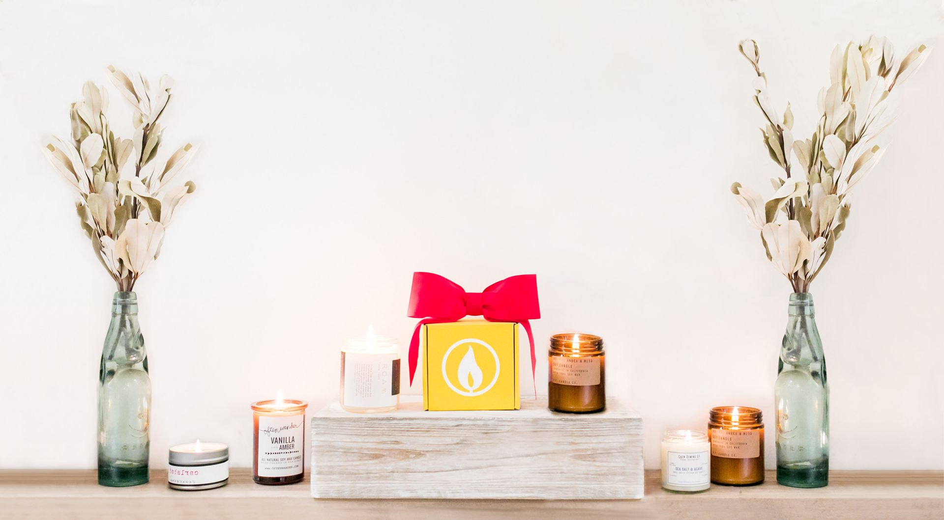 Artisan Candles Delivered Monthly