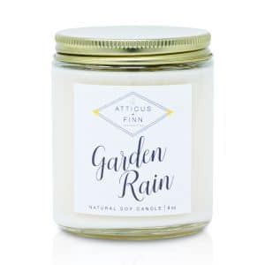 artisan candles, candles subscription, candle gift, soy candle, premium candle, Garden Rain scent candle, candle shop near me, Garden Rain sales, Garden Rain candle for gift