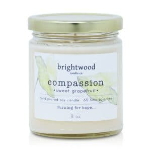 artisan candles, candles subscription, candle gift, soy candle, premium candle, Compassion (Grapefruit) scent candle, candle shop near me, Compassion (Grapefruit) sales, Compassion (Grapefruit) candle for gift